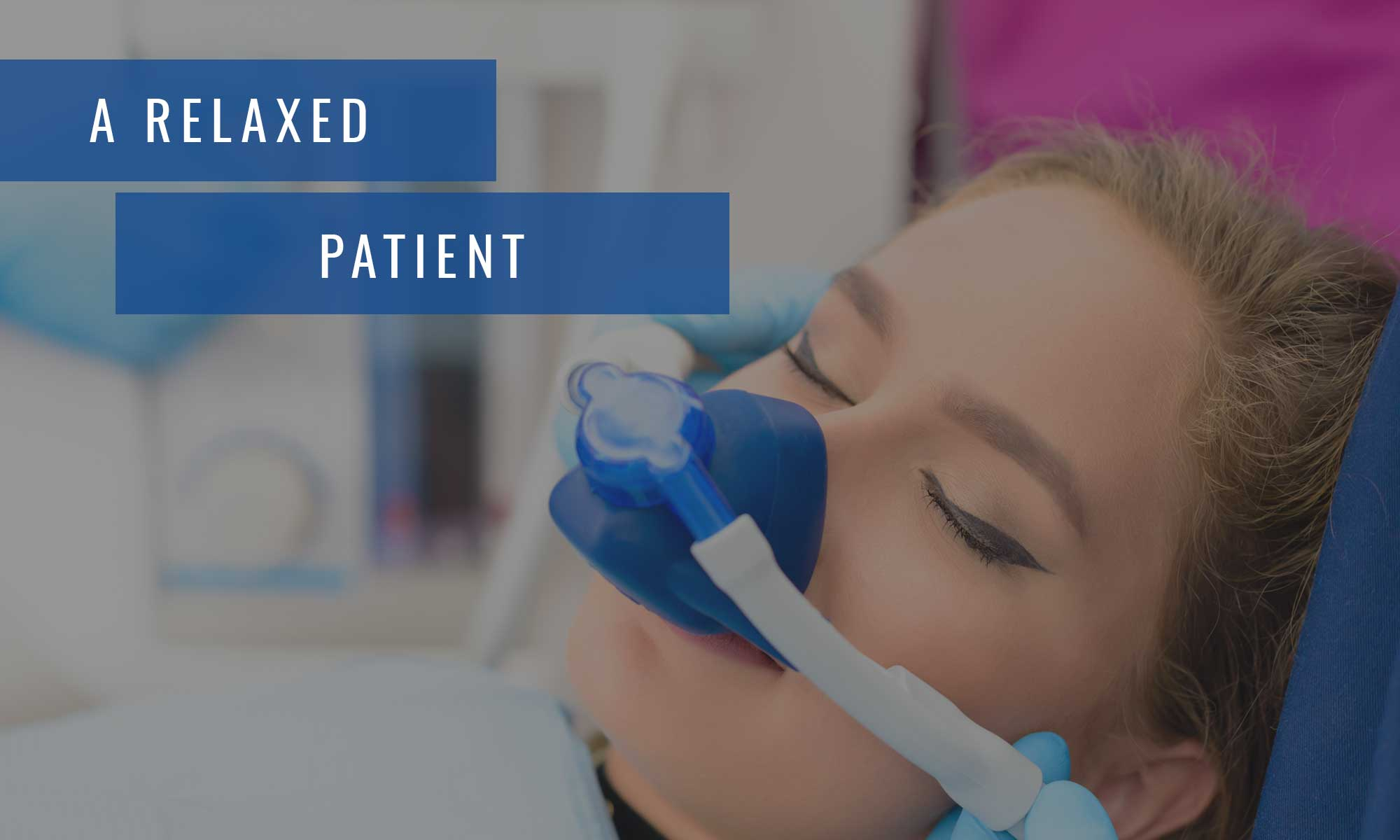 A relaxed patient at Lambton Family Dental