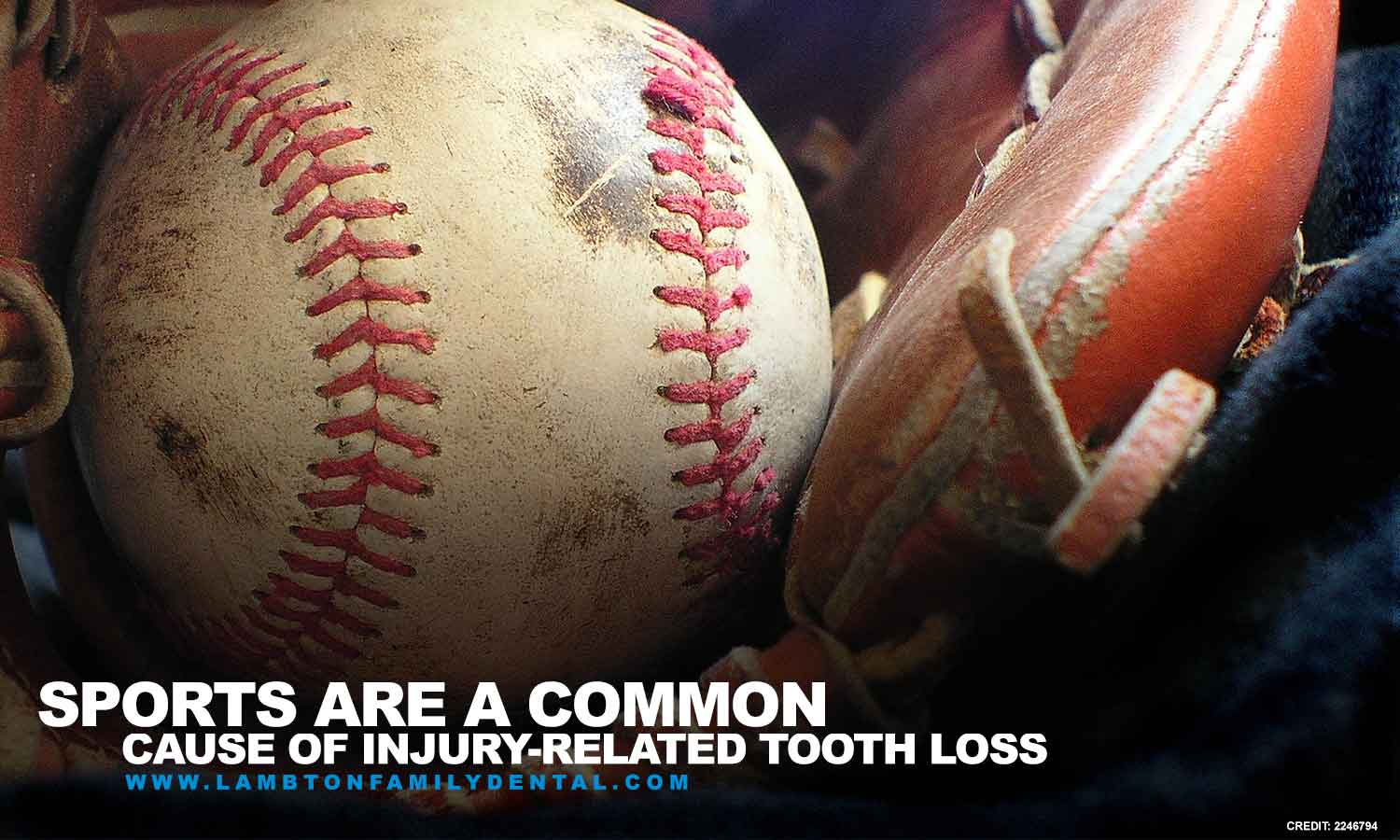 Sports are a common cause of injury-related