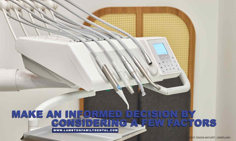 informed decision