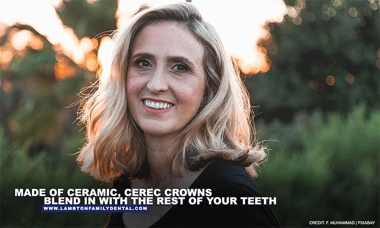 Made-of-ceramic-CEREC-crowns-blend-in-with-the-rest-of-your-teeth