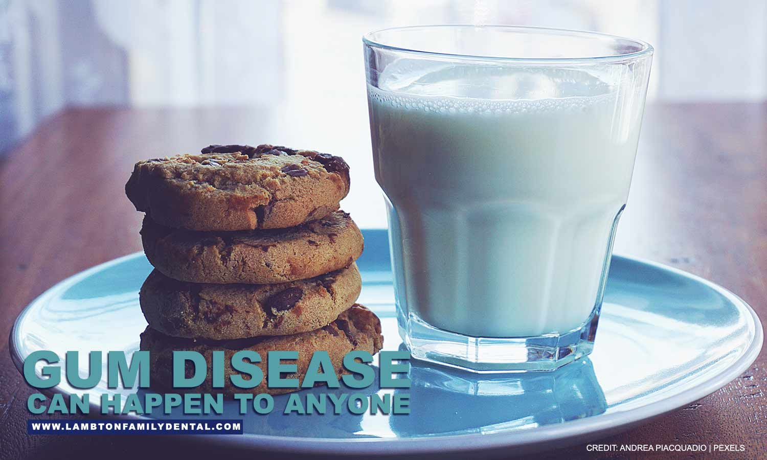 Milk is can help prevent gum disease