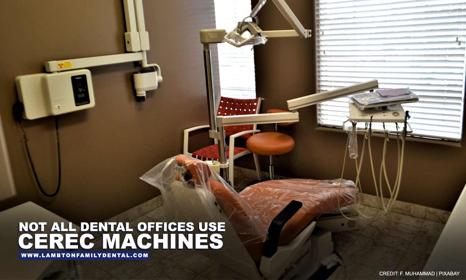 Not all dental offices use CEREC machines